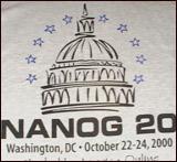 T-shirt for NANOG20