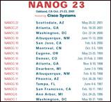 T-shirt for NANOG23