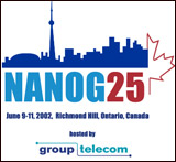 T-shirt for NANOG25