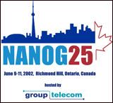 T-shirt for NANOG25