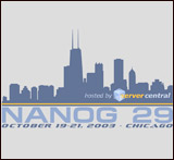 T-shirt for NANOG29
