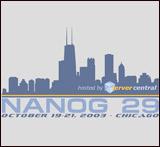 T-shirt for NANOG29