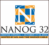 T-shirt for NANOG32