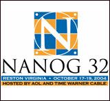 T-shirt for NANOG32