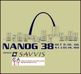 T-shirt for NANOG38