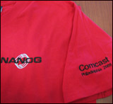 T-shirt for NANOG46