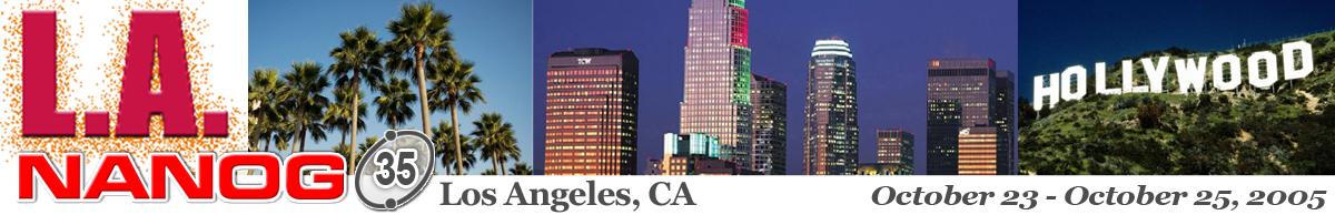 Meeting 35 in Los Angeles, California, 2005-10-23
