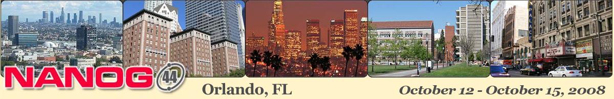 Meeting 44 in Los Angeles, California, 2008-10-12