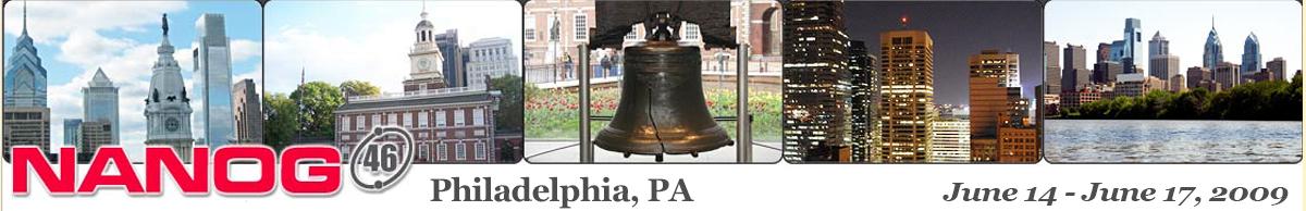 Meeting 46 in Philadelphia, Pennsylvania, 2009-06-14