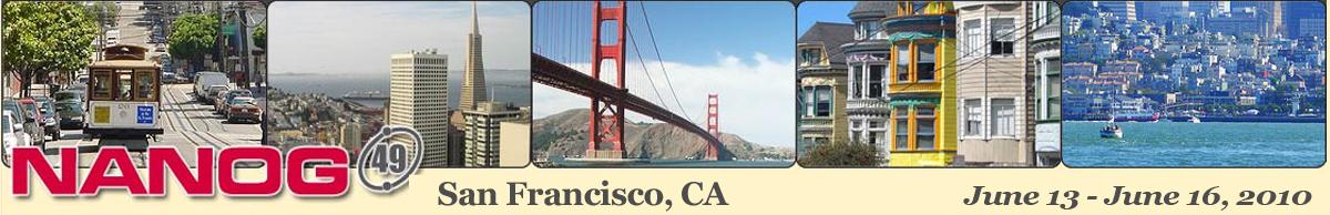 Meeting 49 in San Francisco, California, 2010-06-13