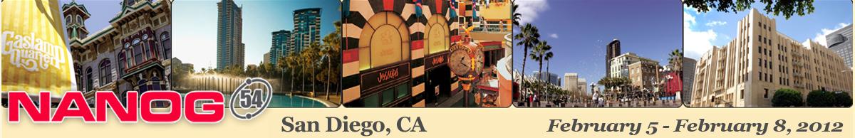 Meeting 54 in San Diego, California, 2012-02-05