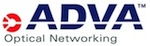 ADVA Optical Networking logo and link