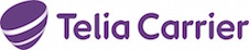 Telia Carrier logo and link