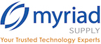 Myriad logo and link