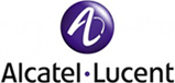 Alcatel-Lucent logo and link
