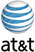 AT&T logo and link