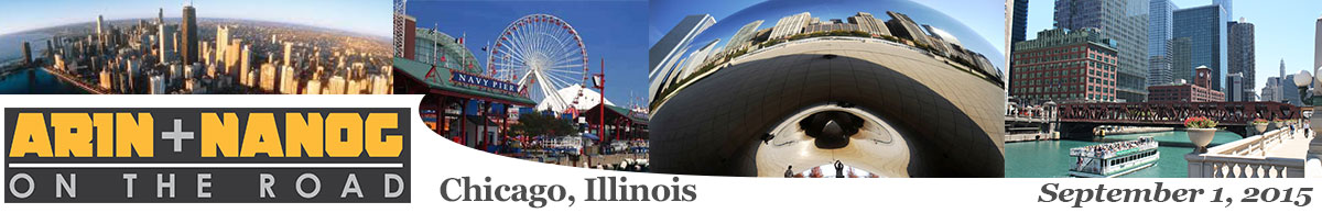 Meeting 8 in Chicago, Illinois, 2015-09-01