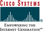 Cisco Systems logo and link