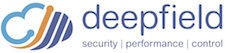 Deepfield logo and link