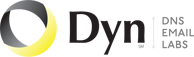 Dyn    logo and link