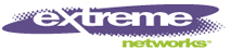 Extreme Networks logo and link