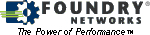 Foundry Networks logo and link