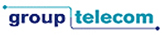 Group Telecom logo and link