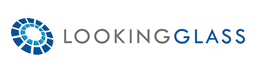 Lookingglass logo and link