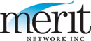 Merit Network logo and link