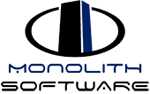 Monolith Software logo and link