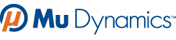 Mu Dynamics logo and link