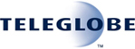 Teleglobe	 logo and link
