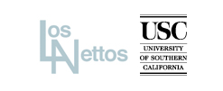 USC/Los Nettos logo and link