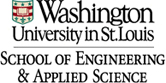 Washington University in St. Louis' School of Engineering and Applied Science logo and link